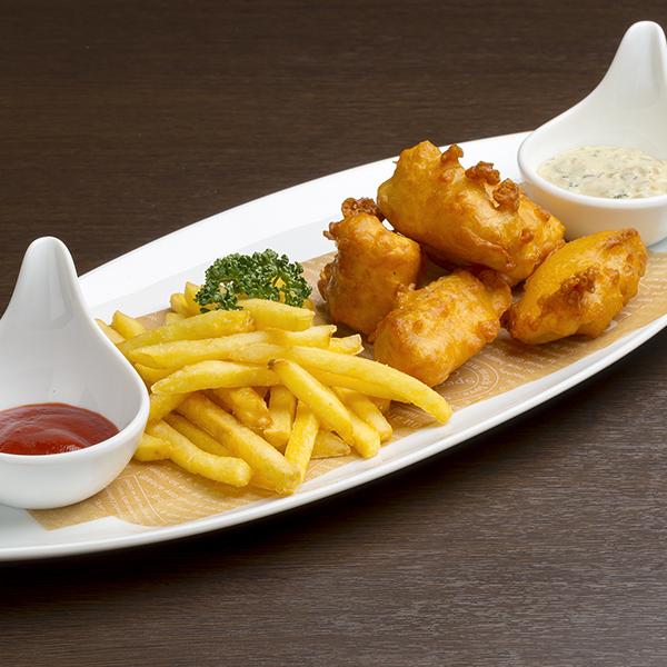 白身魚フィッシュ&ポテト